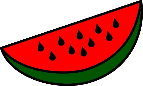 600x363 Watermelon Wedge Clip Art Free Vector In Open Office Drawing Svg