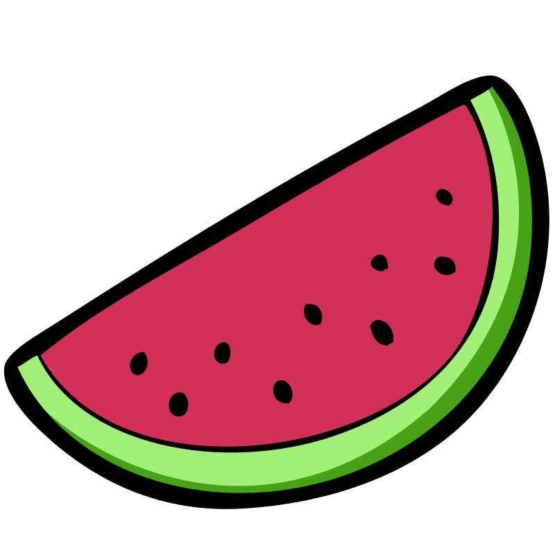 800x800 Free Watermelon Clipart Image