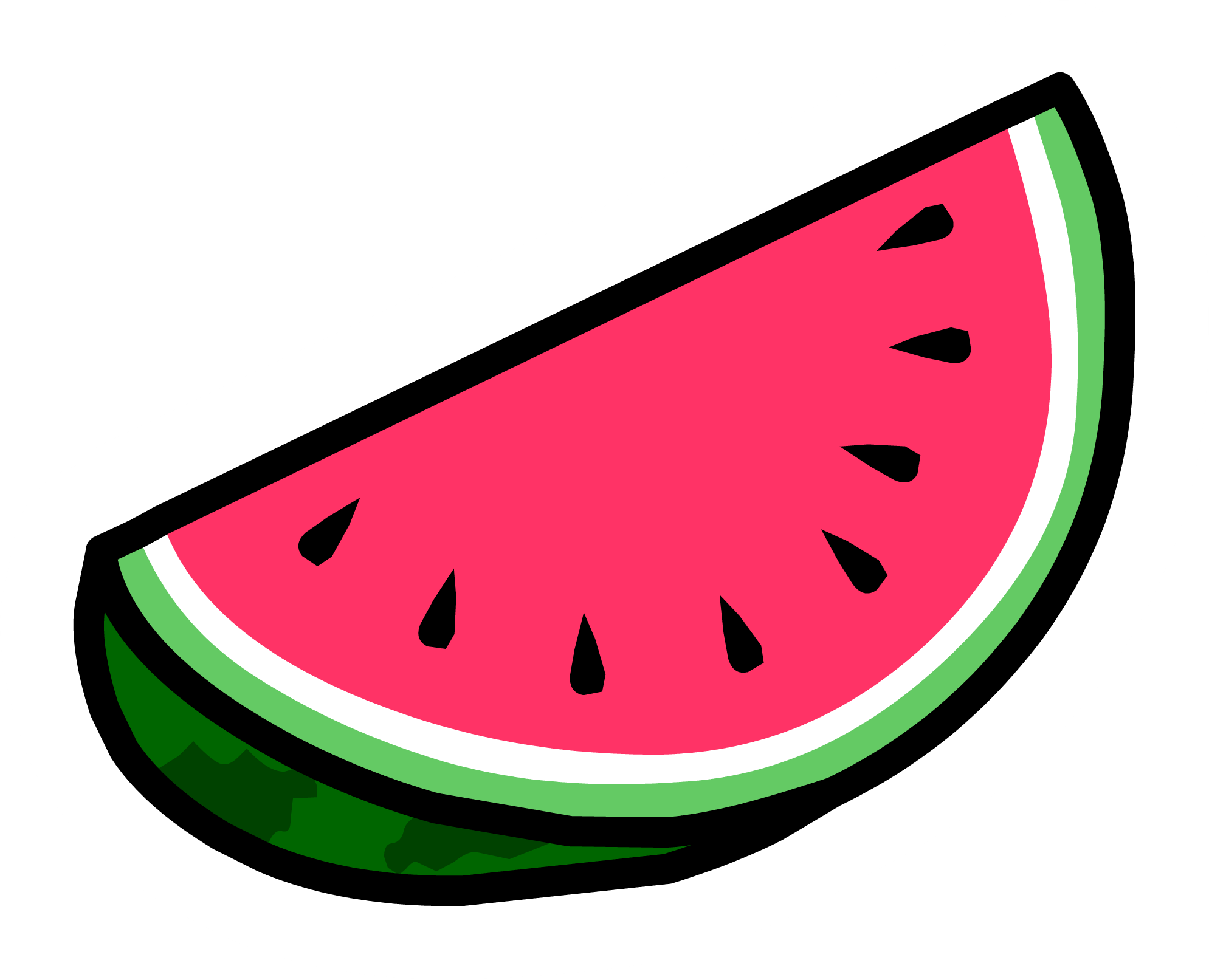 1989x1613 Watermelon Clipart Transparent Background