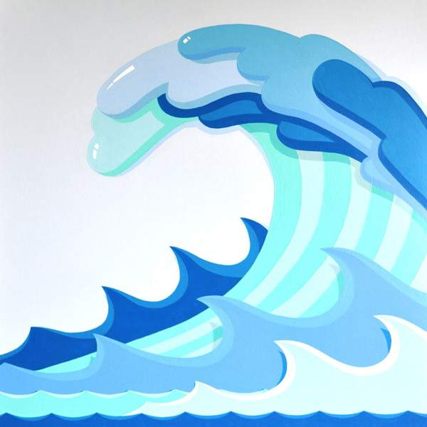 600x600 Wave Clipart Tidal Wave