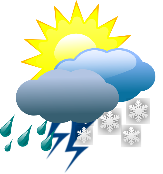 558x595 Weather Clip Art
