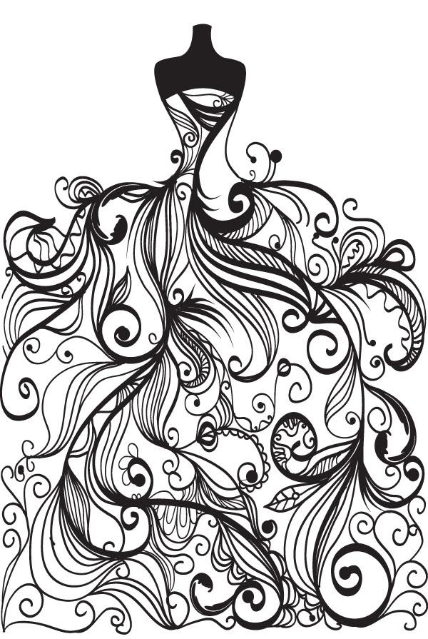 600x895 Top 78 Bridal Clip Art