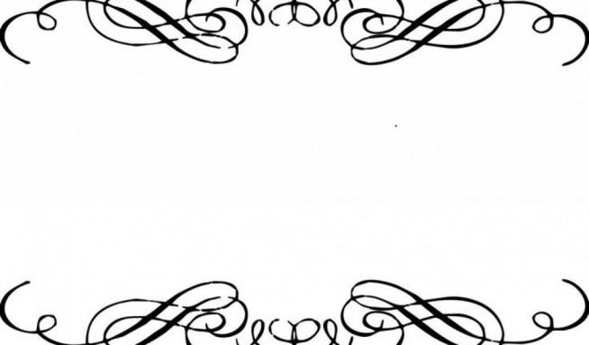 654x383 Wedding Invitation Design Borders