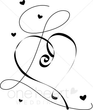 328x388 Free Wedding Clipart Hearts