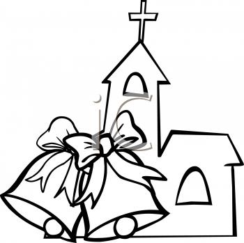 350x349 Wedding Clipart Church