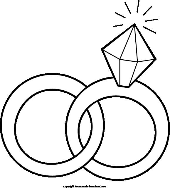 579x643 Wedding rings life ring clip art free clipart wedding