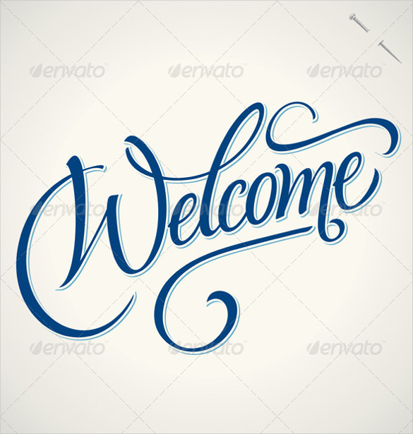 585x615 Welcome Banner Templates Free Sample, Example, Format