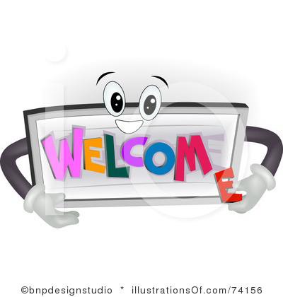 400x420 Welcome Clipart Clipart Panda