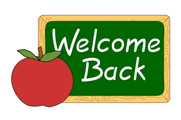 366x242 Welcome Back Free Clipart