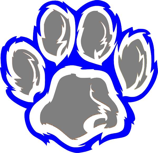 600x582 Wildcat Paw Clip Art