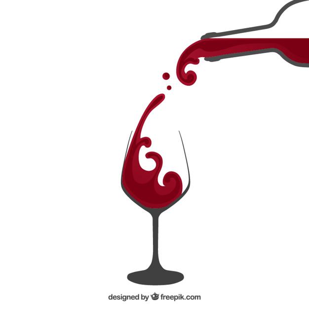 626x626 Splash Clipart Wine Glass