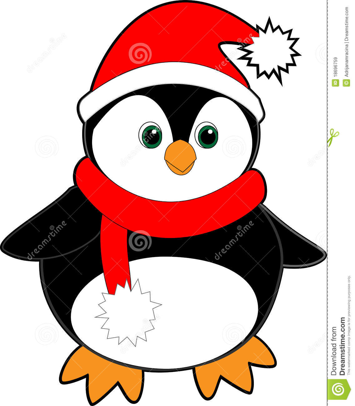 1137x1300 Penguin Christmas Clipart