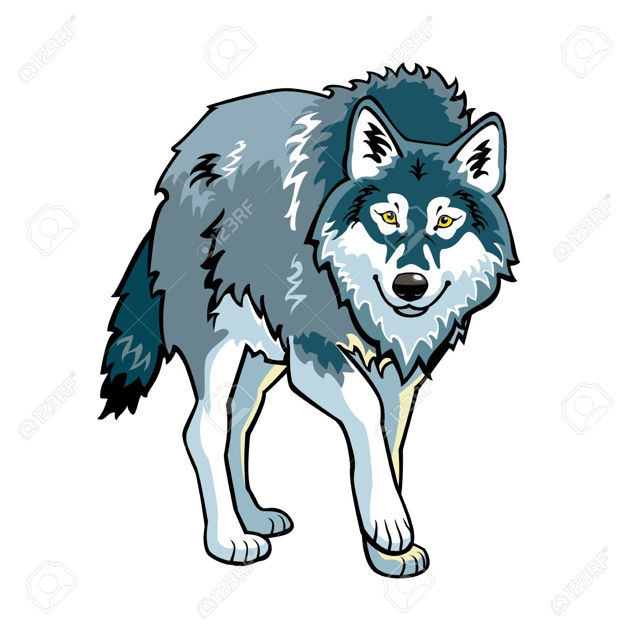 1300x1291 Top 78 Wolf Clipart