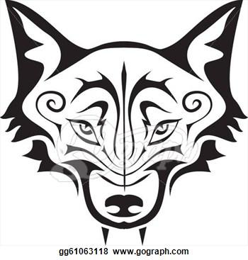 350x367 Top 93 Gray Wolf Clip Art