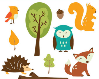 340x270 Woodland Animals Clip Art Images, Fox Clip Art, Fox Vector
