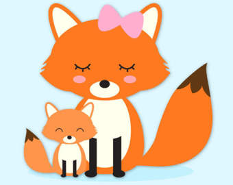 340x270 Woodland Animals Clip Art Images Fox Clip Art Fox Vector
