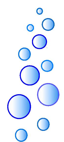 264x588 More N More Blue Bubbles Clip Art