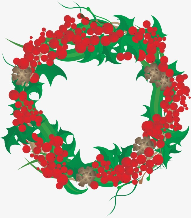 650x743 Wreath Wreath, Vector Art Wreath, Fruit, Leaves Png And Vector