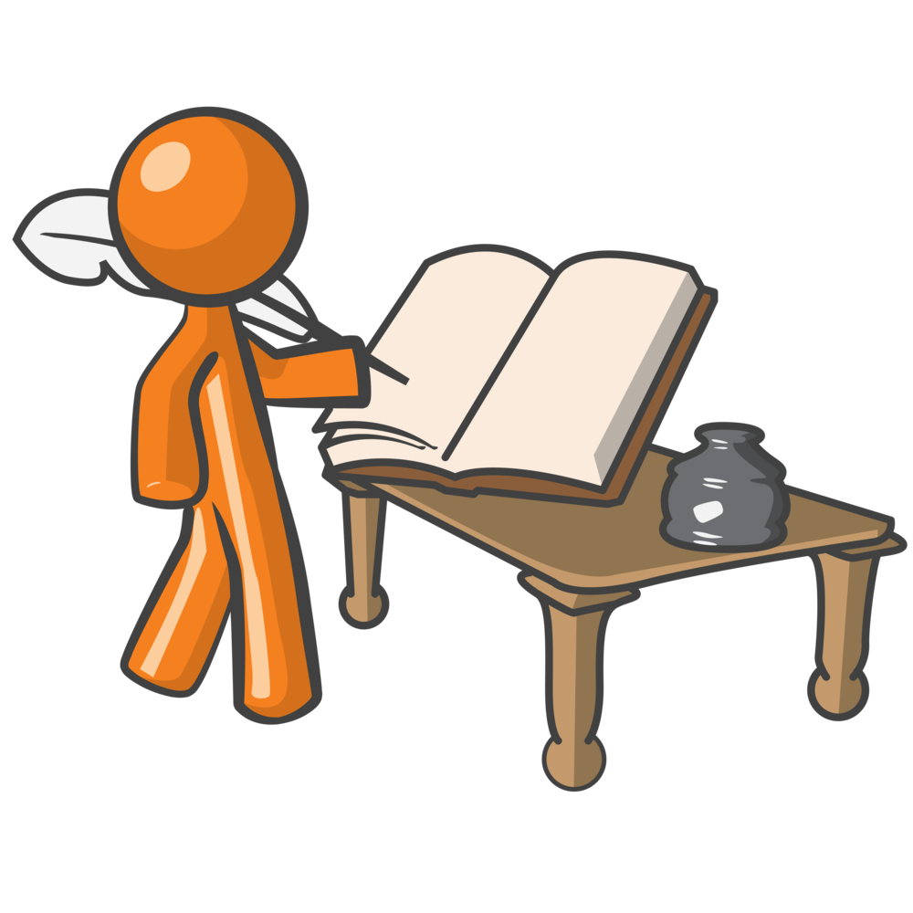1000x1000 Write Writing Conclusion Clipart