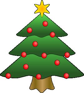 270x297 Christmas Tree Clip Art