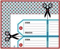 236x192 Printable Garage Sale Pricing, Free Printable And Yard Sale