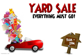 282x188 Customizable Design Templates For Garage Sale Poster Postermywall