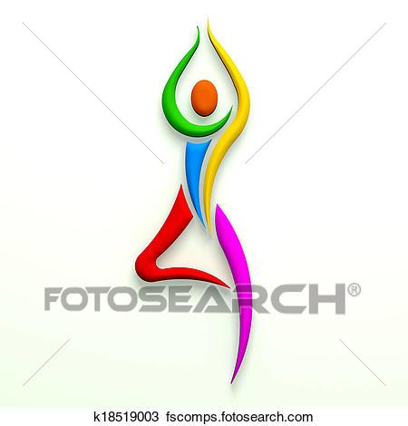 450x470 Yoga Tree Pose Clip Art And Stock Illustrations. 164 Yoga Tree