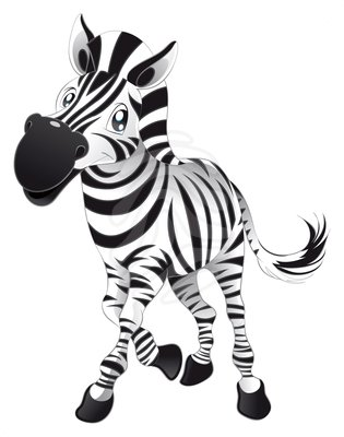 315x400 Cute Zebra Clipart Free Clipart Images 4
