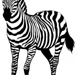 150x150 Zebra Clipart Black And White Zebra Clip Art Black And White Free