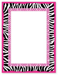 236x304 Free Printable Zebra Stripes Invitation. This is really a great