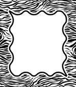 150x170 Zebra Clipart Border