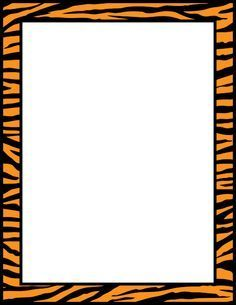 236x305 Cheetah Print Border. Free Downloads