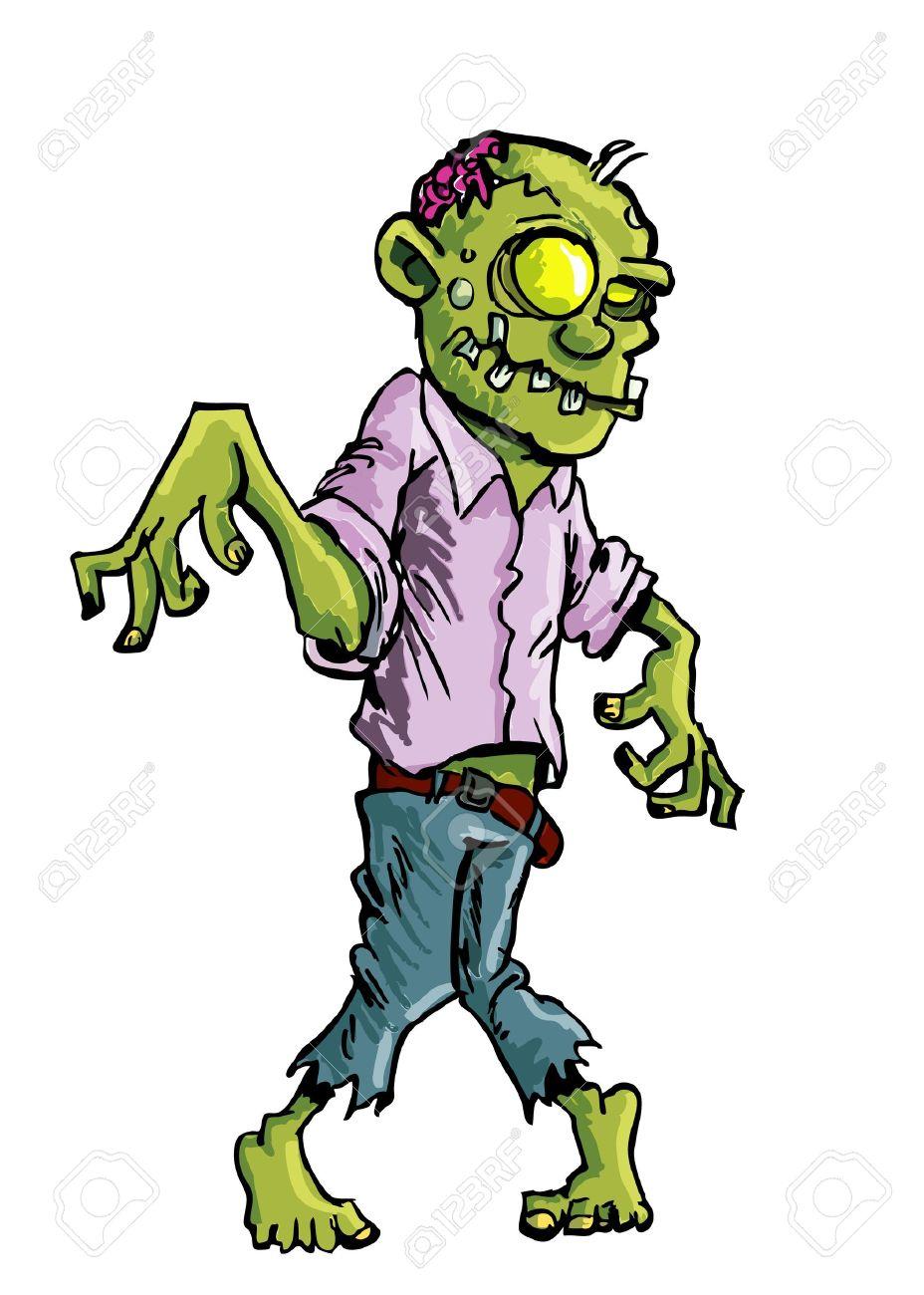 928x1300 Zombie Clipart Cartoon