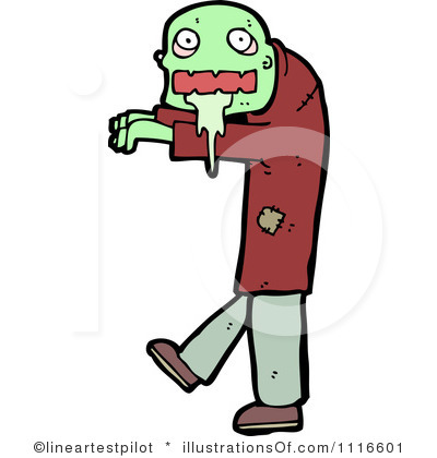 400x420 Zombie Clipart Royalty Free