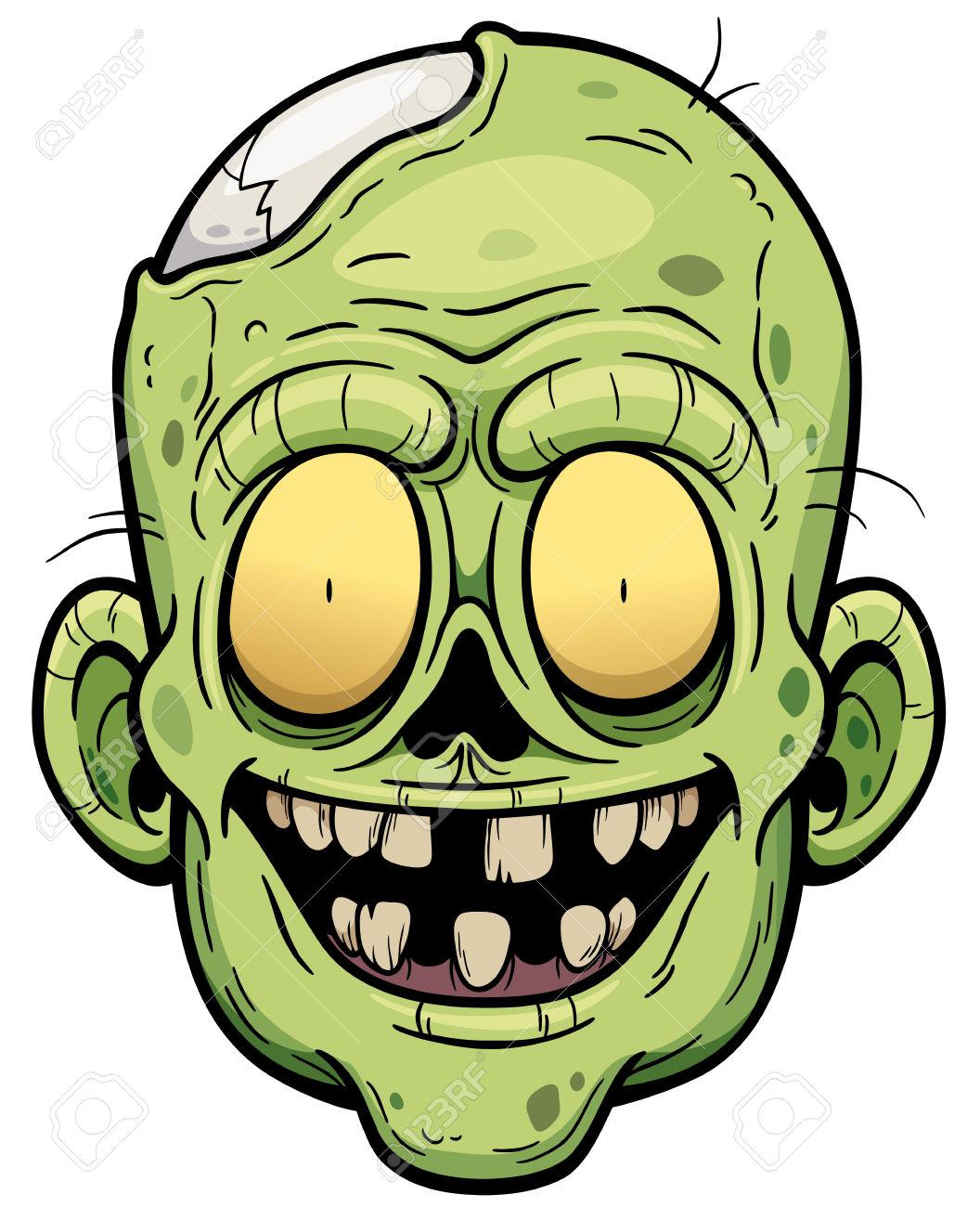 1056x1300 Zombie Clipart Face
