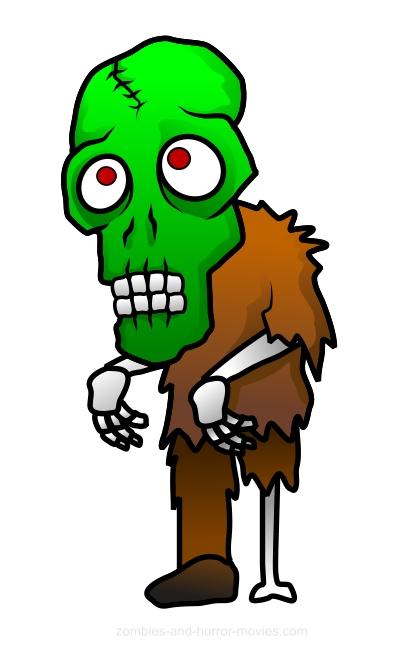 400x649 Free Zombie Clipart