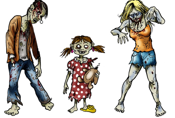 680x459 Free Zombie Clipart Images