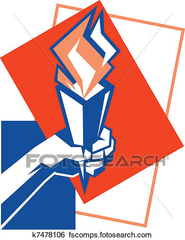 363x470 Clip Art Of Freedom Of Cubism K7478106