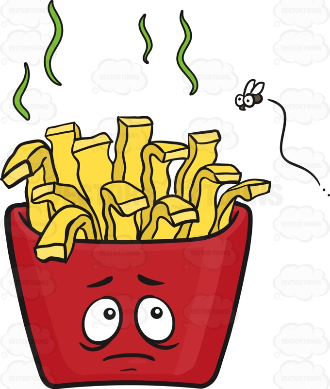 680x800 Spoilt Pack Of French Fries Emoji Cartoon Clipart