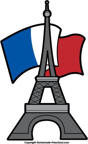 288x470 Drawn Eiffel Tower French Clip
