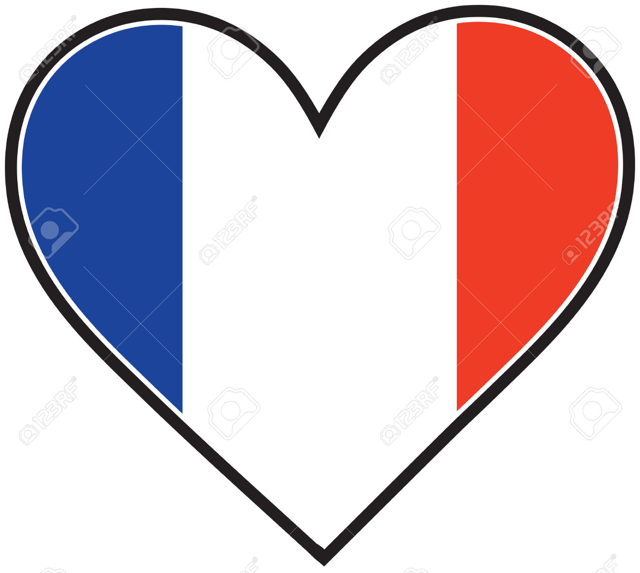 1300x1165 France Clipart French Flag
