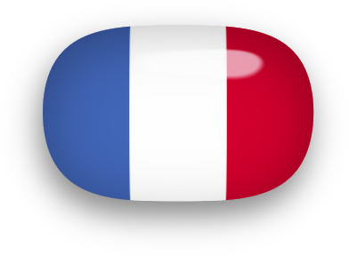 392x288 Free Animated France Flags