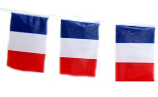 325x200 French Flag Bunting
