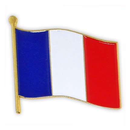 430x430 French Flag Pin World Flag Pins Pinmart Pinmart