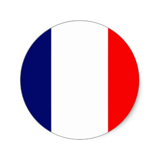 324x324 French Flag Stickers Zazzle