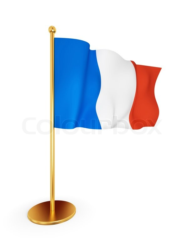 600x800 French Flag Waving On Wind Stock Photo Colourbox