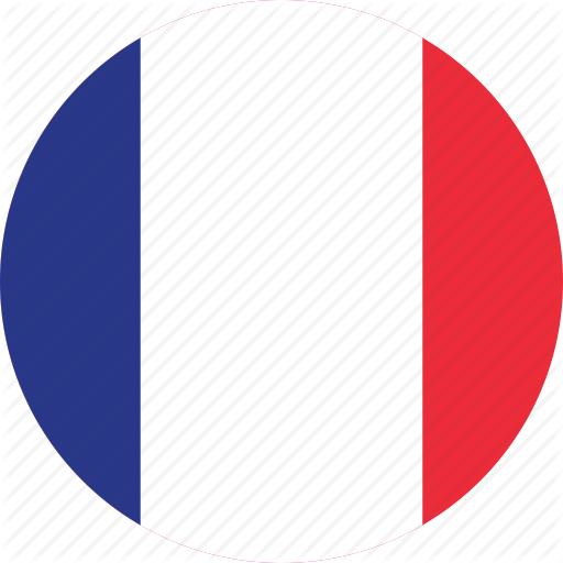 512x512 Circle, Circular, Country, Flag, Flags, France, French Icon Icon