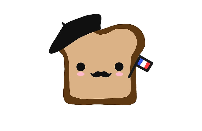 800x522 Toast Clipart French Thing