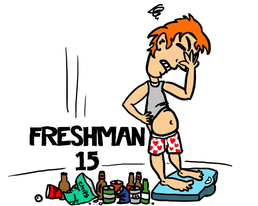 900x720 Freshman 15 More Like Junior 20.