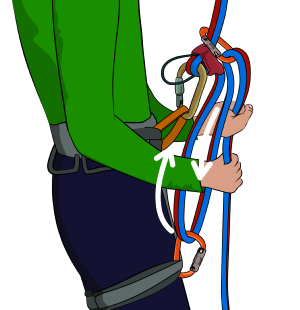 300x310 Increase Friction When Abseiling (Rappeling)